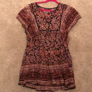 Ecote Tunic Dress Urban Outfitters